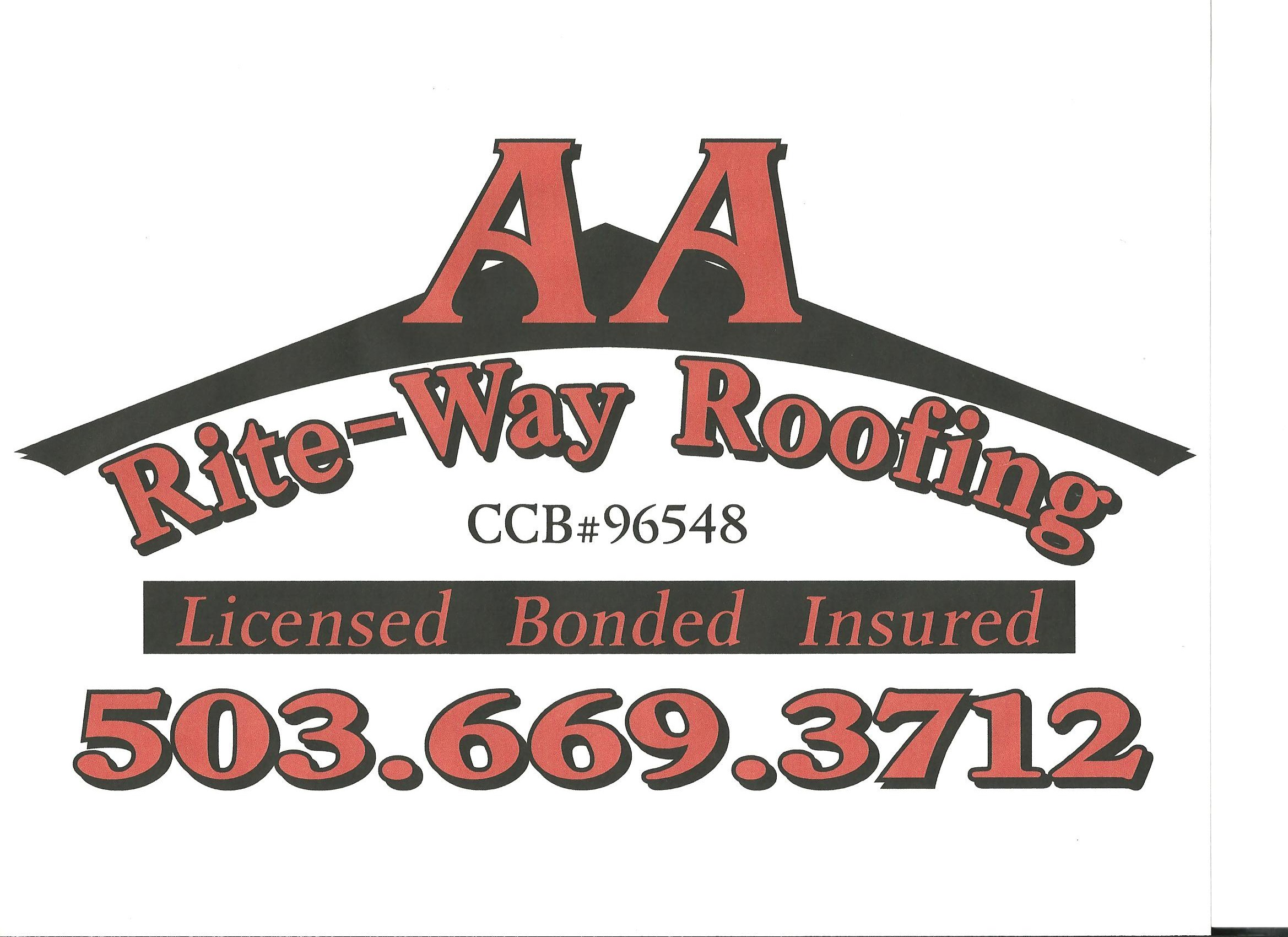 AA RITE-WAY ROOFING